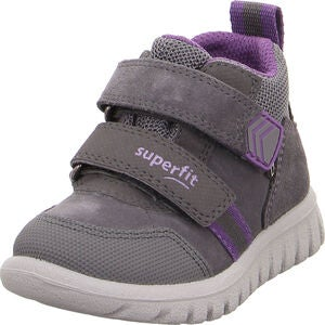 Superfit Sport7 GTX Sneaker, Grey/Purple