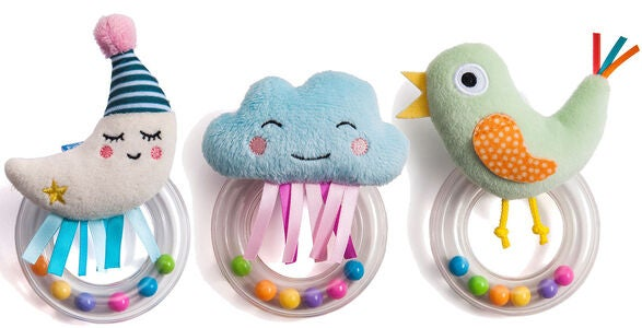 TAF Toys Babyrangle 3-Pakk