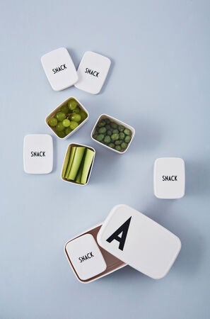 Design Letters Snackbox, Hvit
