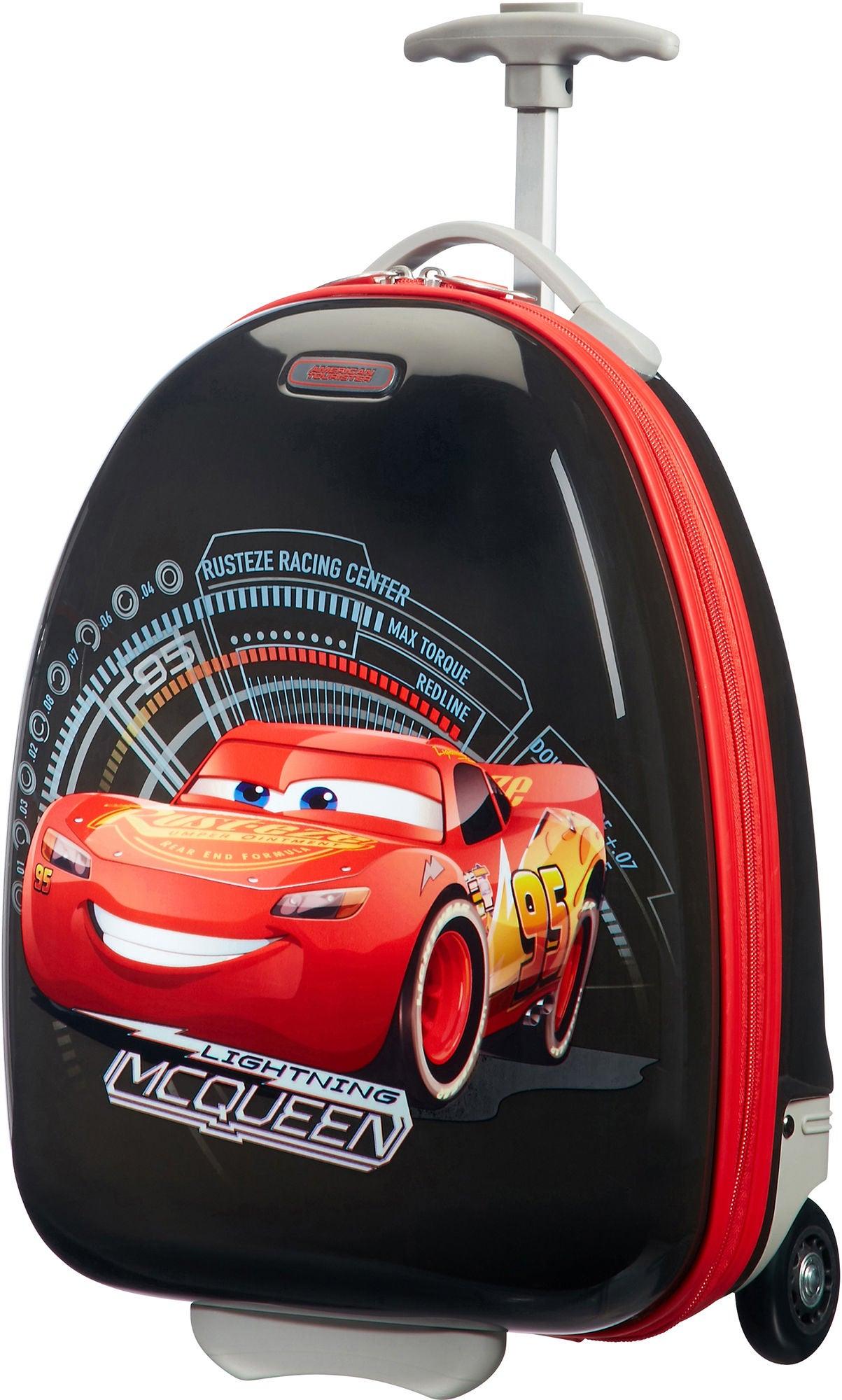 American Tourister Trillekoffert Disney Cars, Rød