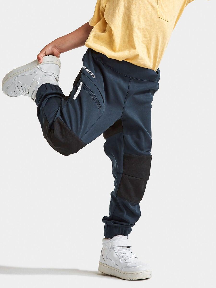 Kjøp Didriksons Lövet Softshell Bukse, Navy | Jollyroom
