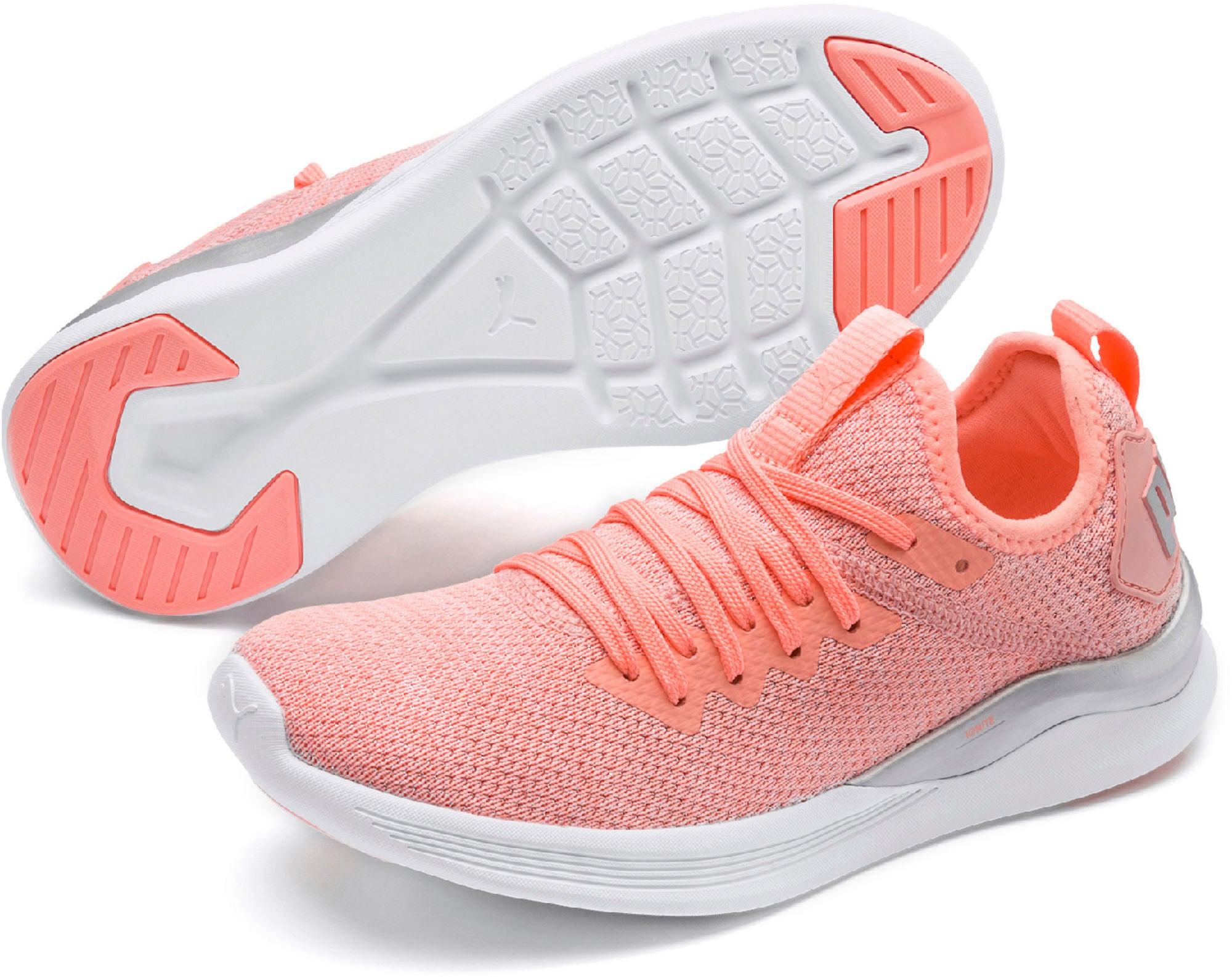 Kjøp Puma Ignite Flash Evoknit Metallic PS Sneaker, Pink