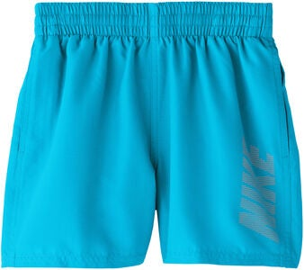 Nike Swim Logo Solid Badeshorts, Light Blue Fury