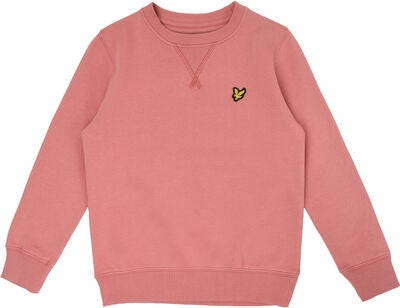 Lyle & Scott Junior Classic Genser, Pink Shake