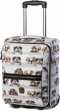 Pick & Pack Koffert Hund, White