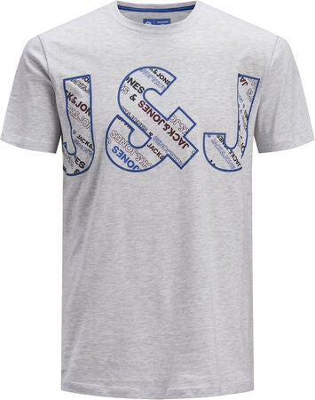 Jack & Jones Bo T-Shirt, White Melange