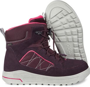 ECCO Urban Snowboarder Sko, Fig/Teaberry