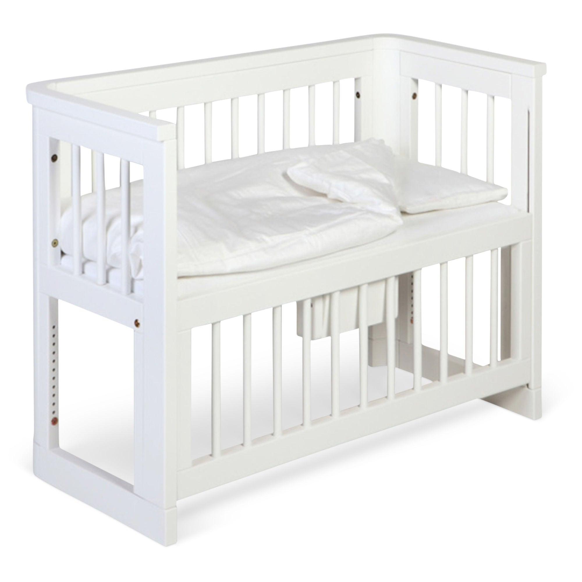 Kjøp Troll Sprinkelseng Sun Bedside Crib Hvit | Jollyroom