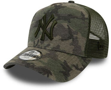 New Era Camo 9FORTY KIDS TRUCKER NEYY Kaps, Woodland Camo