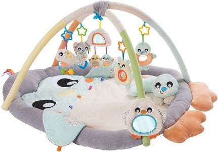 Playgro Snuggle me Tummy time Babygym Penguin