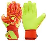 Uhlsport Soft Flex Frame Målvaktshandske, Orange/Rød