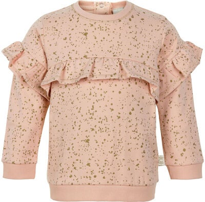 Creamie T Skjorte Flower Rose Smoke