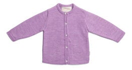 Petite Chérie Atelier Margit Cardigan, Light Purple/Dusty Purple