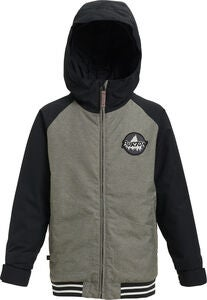 Burton Boys Gameday Jakke, Bog Heather/True Black