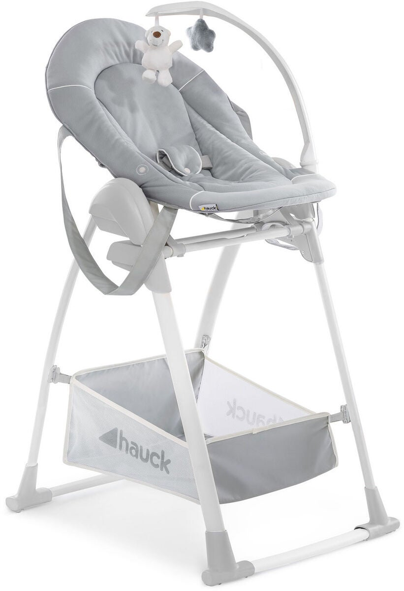 Hauck Sit N Relax 3-i-1 Matstol, Stretch Grey