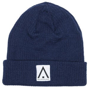 Wearcolour Y Beanie Lue, Midnight Blue