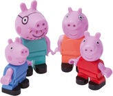 Peppa Gris Figurer 4-pack