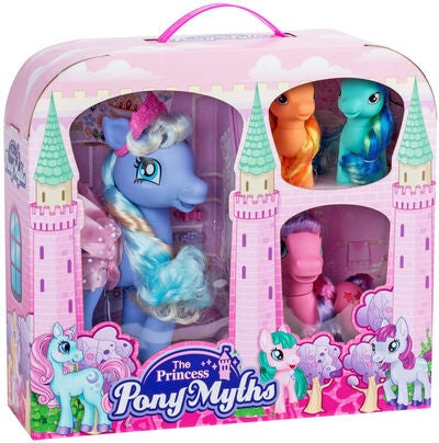 The Princess Pony Myths Gavesett 4-pack