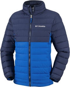 Columbia Powder Lite Jakke, Super Blue/Collegiate Navy