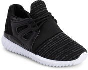 Little Champs Sneaker, Black/D. Grey