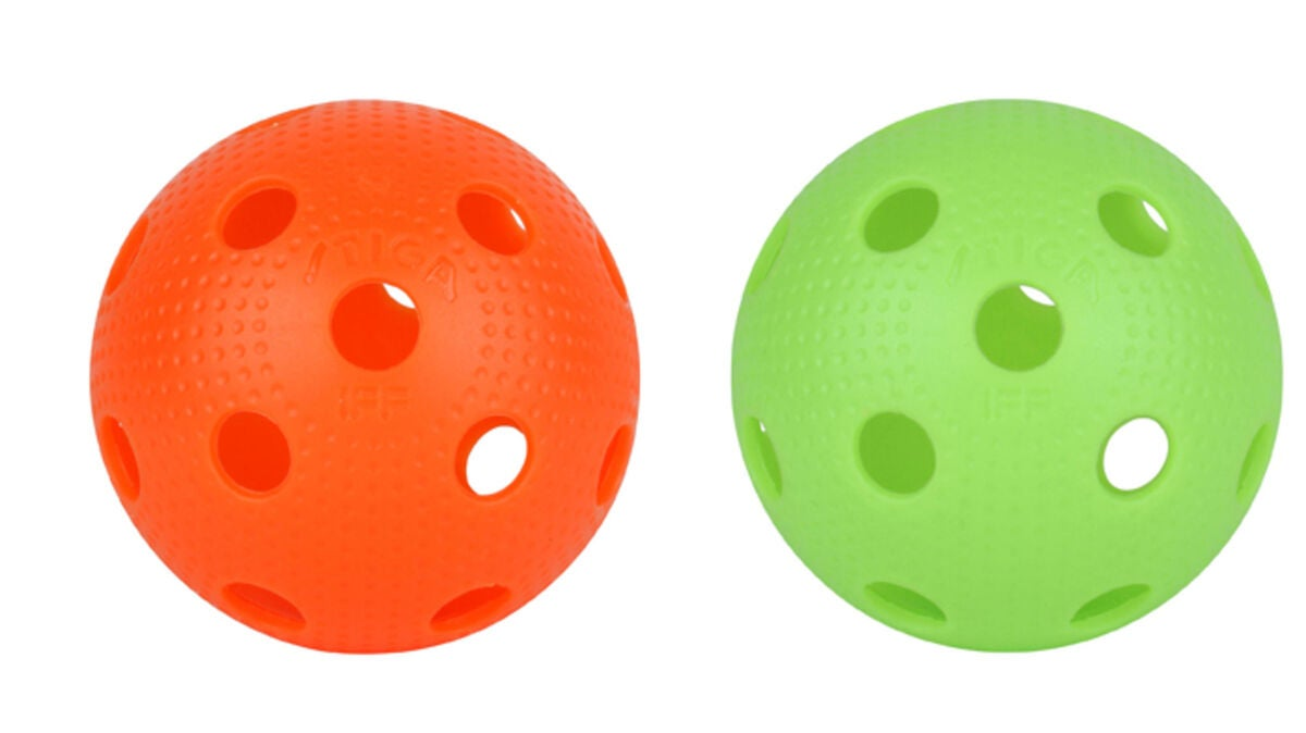 STIGA Innebandyball EXS 2-pack Mix