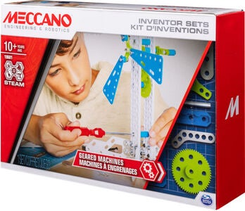 Meccano Byggesettt Geared Machines Sett 3