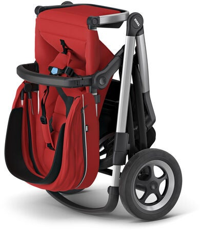 Thule Sleek Sportsvogn, Energy Red
