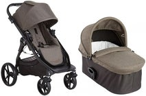 Baby Jogger City Premier + Liggedel Deluxe, Taupe