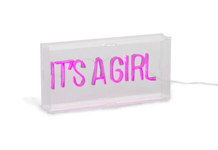Childhome Neon Light Box It's A Girl