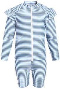 Luca & Lola Bianche UV-sett, Blue Stripes