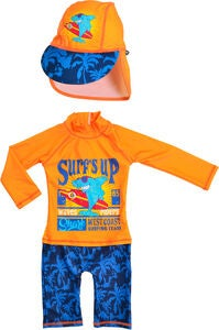 Swimpy UV-Drakt & Hatt, Shark Surf