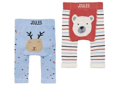 Tom Joule Leggings Polar Bear 2-pack, Blue