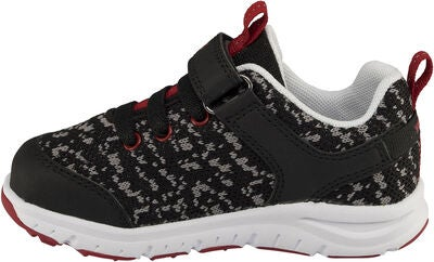 Viking Veil Sneaker, Black/Red