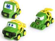 Oball Go Grippers John Deere 3-pack Farm Vehicles