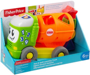 Fisher-Price Sort & Spill Learning Truck