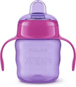 Philips Avent Classic Tåtekopp 200 ml, Purple/Pink