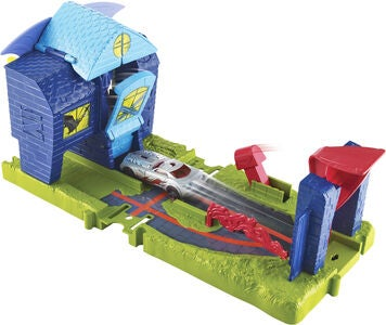 Hot Wheels City Bat Manor Attack Lekesett
