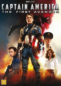Marvel Avengers Captain America DVD