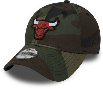 New Era 9Forty Kids Chicago Bulls Kaps, Camo