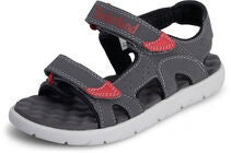 Timberland Perkins Row 2 Strap Sandal, Dark Grey