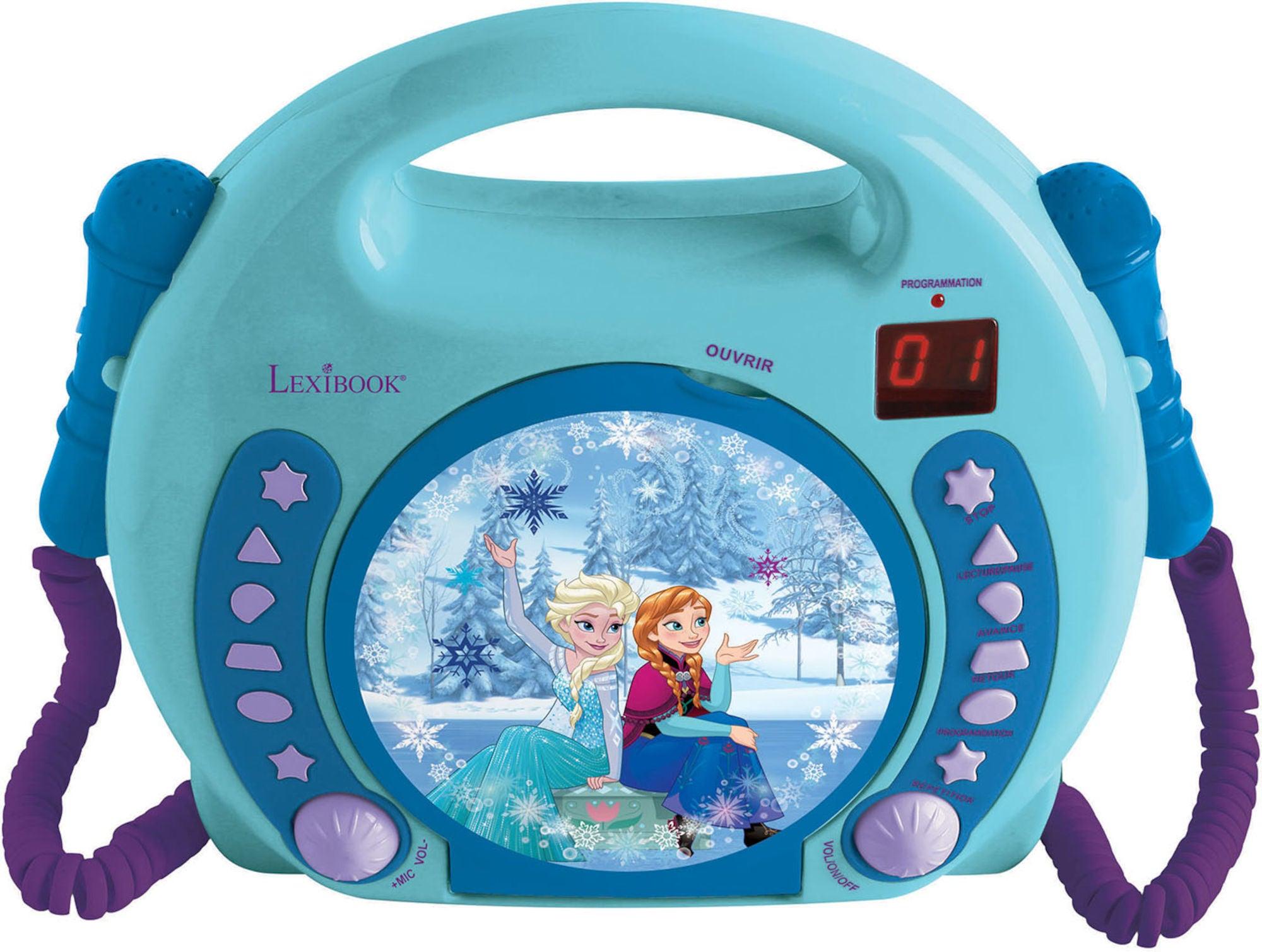 Disney Frozen CD-spiller med Mikrofon
