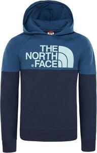 e7e2c9ee The North Face Drew Peak Raglan Hettegenser, Cosmic Blue/Shady Blue