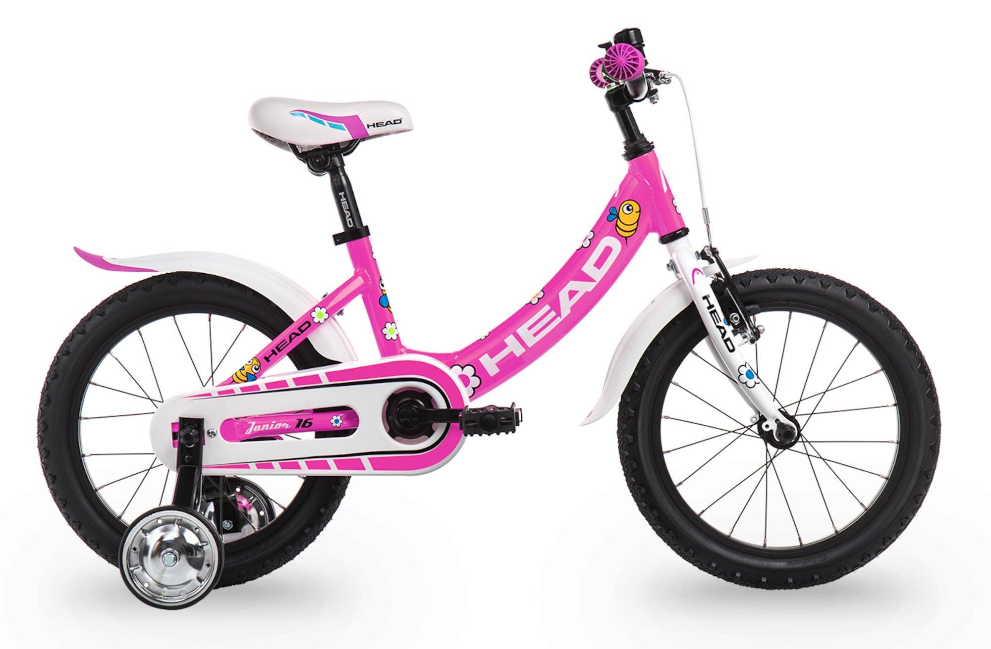 Kjøp HEAD Junior Sykkel 16 tommer, Rosa | Jollyroom