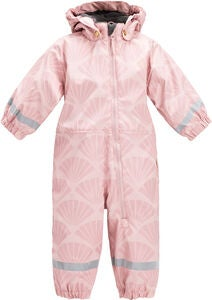 13d007a2 Petite Chérie Atelier Belle Foret Regndress, Silver Pink Shell