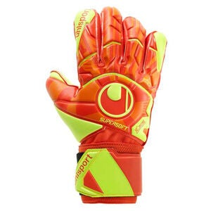 Uhlsport Starter Soft Målvaktshanske, Orange/Rød
