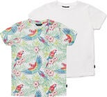 Luca & Lola Riccione T-Shirt 2-pack, Birds/White