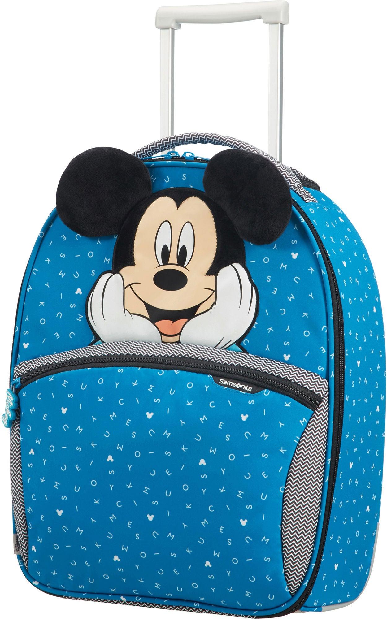 Samsonite Disney Mikke Mus Trillekoffert, Blå
