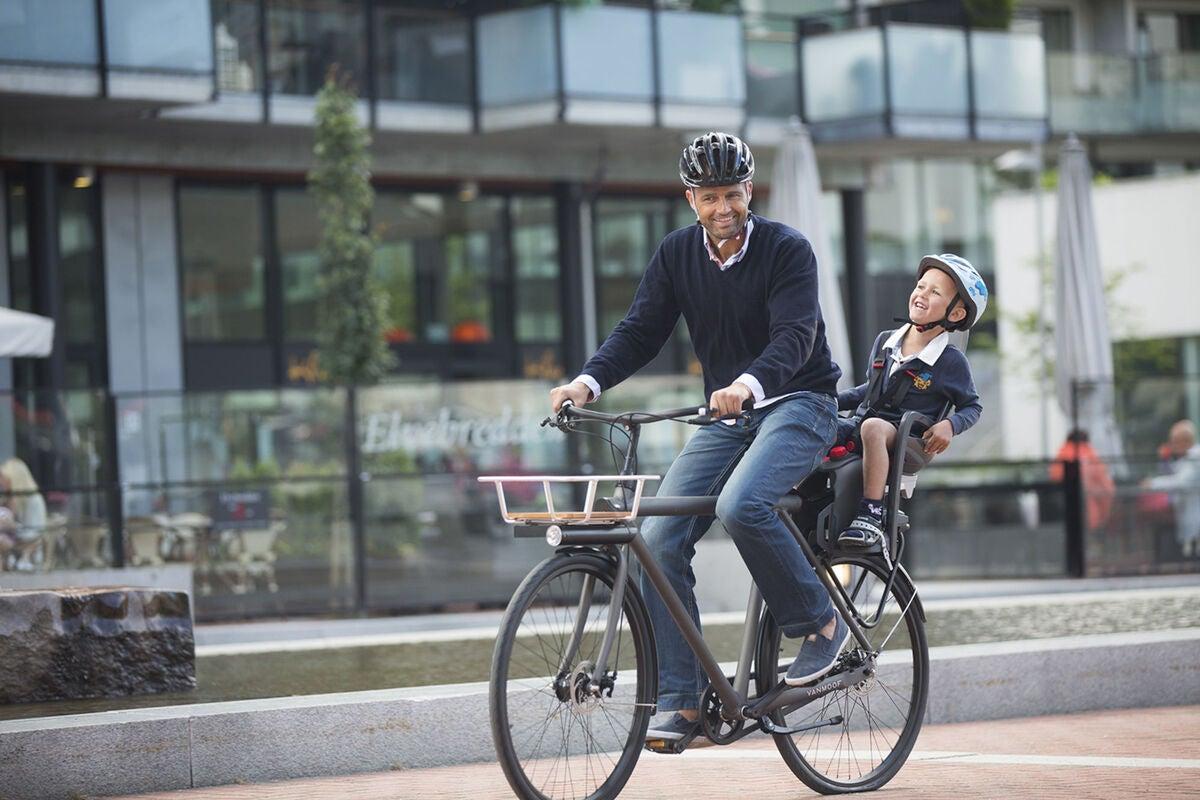 Kjøp Hamax Zenith Sykkelstol inkl. Feste for Bagasjebrett