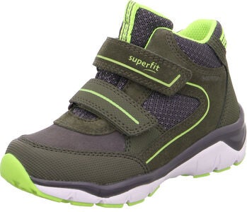 Superfit Sport5 GTX Sneaker, Green/Yellow