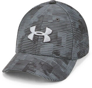 Under Armour Printed Blitzing 3.0 Kaps, Stealth Grey